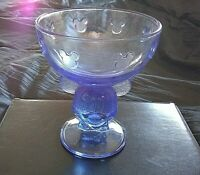 Quirky Disney Blue  Mickey Mouse Embossed Beverage Glass