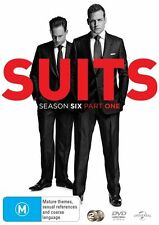 Suits Season 6 Part 1 DVD Brand New Pre Order Ships 5/30 Factory Sealed