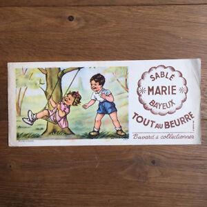Buvard Sablé MARIE Bayeux Enfants balançoire  Blotter Löscher
