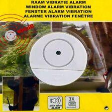 Fensteralarm Window Fenster-Scheiben-Alarm mit Vibrations-Empfindlichkeit Sirene