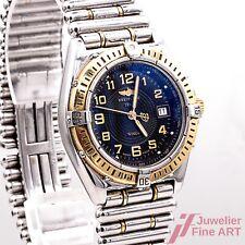 Breitling Wings Lady D67350 Quarz Chronometer Stahl/Gold 31 mm