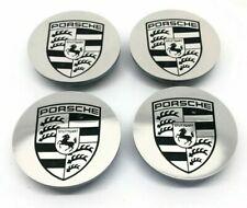 Set Of New Genuine Porsche 95B Macan Turbo III IV Crested Centre Caps