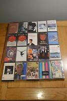 Job Lot Cassette Tape Paul Weller,Carpenters,Robert Palmer,Level 42,Phil Collins