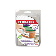 Food Labels - Erasable 70 ct. with Eraser - Jokari
