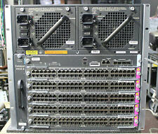 Cisco WS-C4506E-S7L+96V+ Catalyst Switch 1x WS-X45-SUP7L-E, 5x WS-X4648-RJ45V+E