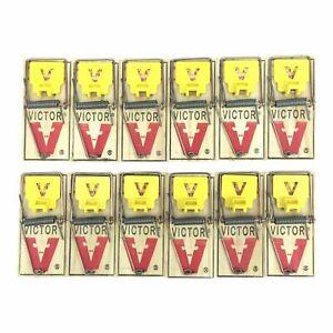 Victor Mouse Trap M325 (12 Traps)