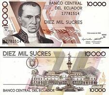 ECUADOR 10000 10,000 SUCRES 13-10-1994 UNC P 127A SERIE -AI-