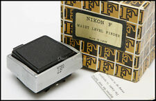 Nikon F Waist Level Finder - SELDOM SEEN VINTAGE COLLECTABLE - GREAT CHROME