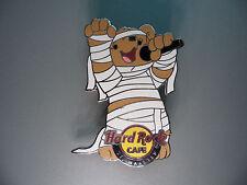 Hard Rock Cafe St.  Maarten 2011 - Halloween - Cute Singing Horror Bear HRC Pin