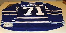 David Clarkson Toronto Maple Leafs Autograph Jersey NHL Hockey Signed COA Holo