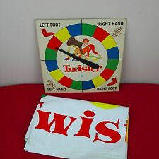 Twister Game Vintage 1966 Milton Bradley Board Plastic Sheet 4645-X1