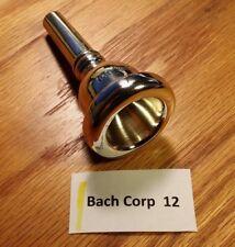Bach Corp 12 Small Shank Trombone/Baritone/Euphonium Mouthpiece