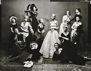 1947/84 Most Photographed Female Fashion Models By IRVING PENN Photo Art 11x14