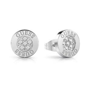 Guess Love Knot Crystal Stud Earrings UBE78022