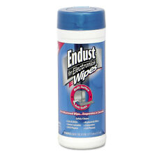 "Endust Antistatic Premoistened Wipes for Electronics Cloth 6"" x 6"" 70/Tub 2"