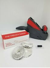 Meto Price Labeler, Model 5.16, Starter Kit, 10 rolls white labels + Ink Roller