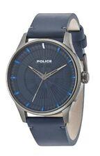Reloj de Pulsera la policía para hombre Caballeros Jet Esfera Azul 15038JSU/03 ☆ Nuevo con Caja de Regalo ☆