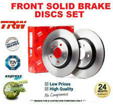Front Axle SOLID BRAKE DISCS for VAUXHALL CORSA Mk I 1.0 i 12V 1996-2000 (236mm)