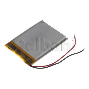 New 3.7V 2000mAh Internal Li-ion Polymer Built-in Battery 59x43x5mm 29-16-0844