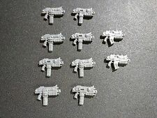 Warhammer 40k Chaos Space Marines Squad Bolters Bits