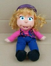"""Vintage Fisher Price Puzzle Place JODY SILVER 13.5"""" Plush Doll Vinyl Head 1994"""