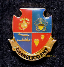 1ST ANGLICO FMF LAPEL HAT PIN UP US NAVY PATCH MCB CAMP PENDLETON USS MR 1834
