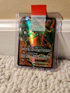 Rayquaza EX Full Art 123/124 Dragons Exalted Pokemon Card EXCELLENT