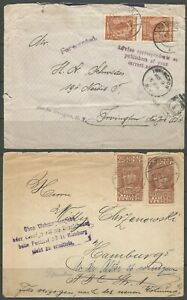 POLAND, TWO COVERS, SET 3