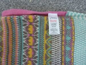JOULES MULTI COLOURED SCARF - ONE SIZE - GREAT LOOK!