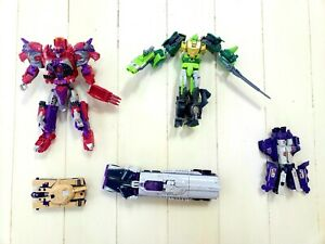 Transformers Lot of 5 Triple Changers Both Vintage and 2016