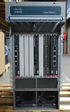 CISCO7609-S + 2x FAN-MOD-9SHS + 4 x WS-X6704-10GE+ 2x RSP720-3CXL-GE