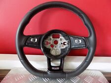 STEERING WHEEL LEATHER LENKRAD LEDER CARBON MULTIFUNCTION R-LINE R GOLF PASSAT