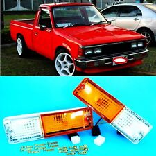 DATSUN 720 PARKING TURN SIGNAL LIGHT LH RH FRONT BUMPER FIT FOR  pick up truck