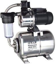 T.I.P. HWW INOX 1300 Plus F Hauswasserwerk, Filter, Pumpe, Gartenpumpe