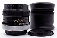 KIRON 28mm F/2 FAST WIDE ANGLE MANUAL FOCUS LENS FOR CANON FD FILM SLRs