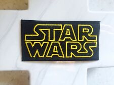 Science Fiction Yellow Star Wars Sci Fi Rectangle Iron On Patches Patch