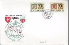 1984 Isle of Man Fdc Commonwealth Issue