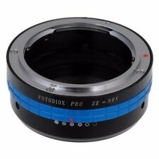 Fotodiox Pro Adapter : Mamiya ZE Lens to Sony Alpha E-Mount Cam w/ Aperture Dial
