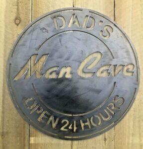 Man Cave Metal Sign Wall Art CNC Sign Man Shed Decor Metal Plague