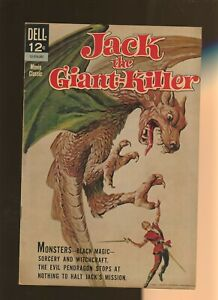 Jack the Giant Killer FN+ 6.5 * 1 Book Lot * Dell 1963! Movie Classic!