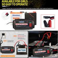 12V Pulso Reparación Cargador 5A Coche Batería de LED EU Enchufe Impermeable ES
