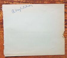 More details for ralph vaughan williams & sir thomas beecham  rare album page autographs