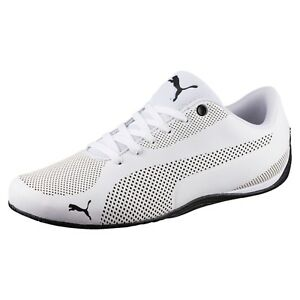 New Puma drift cat 5 ultra mens shoes white black 362288 03 men's shoe in box