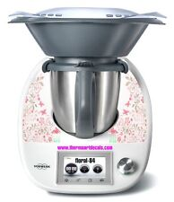Thermomix TM5 Sticker Decal  (Code: Floral 84)