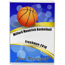 4X6 Personalized Basketball Photo Album- You choose the background and text!