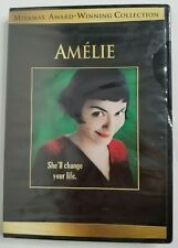 Amelie Dvd Widescreen Movie (Audrey Tautou) Miramax/Lionsgate Comedy New/Sealed