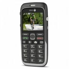 Doro Phone Easy 520X - Black (GSM Unlocked) Robust with Big Buttons
