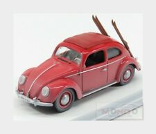 Volkswagen Beetle Kafer With Ski 1953 Red RIO 1:43 RIO4561