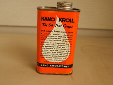 NOS VINTAGE KANO KROIL PENETRATING OIL 8 OUNCE CAN - 68A-CANCO