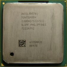 INTEL Pentium 4 SL6PF 2,80GHz/512Kb7/533FSB Socket478 CPU Processore DESKTOP P12